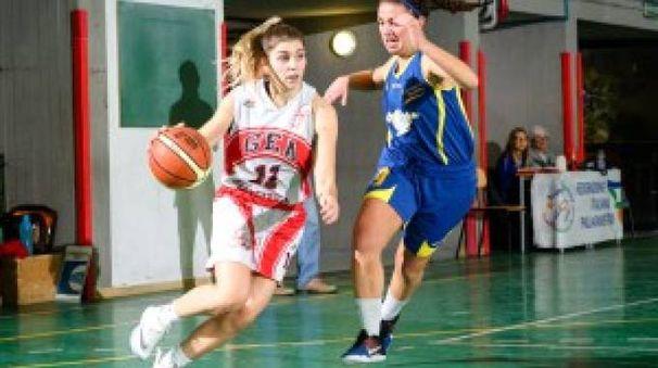 La play Elena Furi, miglior realizzatrice con 17 punti
