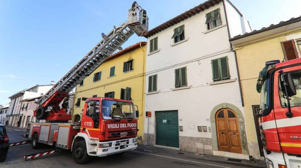 Incendio in un appartamento a Empoli (Germogli)