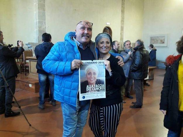 """La presentazione del calendario di Silvana Benigno """"Alla faccia del cancro"""" (Crisci)"""