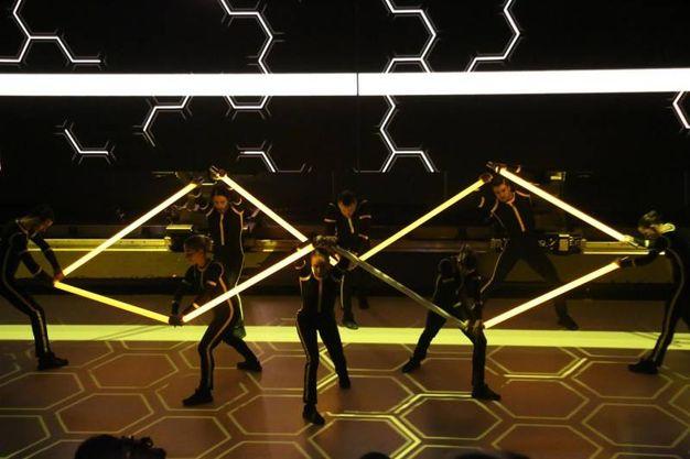 La coreografia (Ansa)
