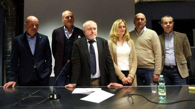 Il sindaco Tiziano Tagliani e l'assessore Caterina Ferri all'incontro tra Cna ed Hera (foto Businesspress)