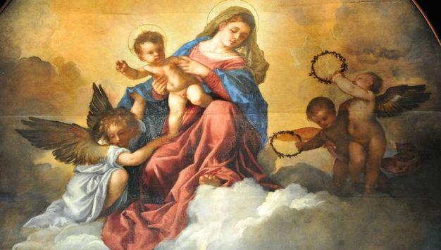 """1 - Visitare la """"Sacra conversazione"""" di Tiziano a Palazzo Marino"""