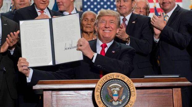 Trump ridimensiona due parchi nazionali in Utah (Afp)