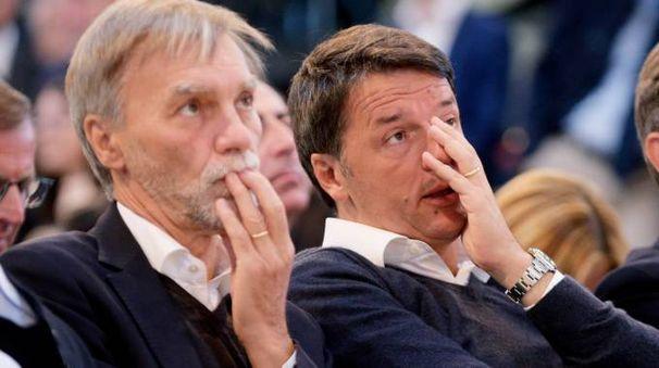 Delrio e Renzi (Lapresse)