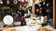 Oltre 70 i tipi di formaggio in vendita (foto Schicchi)