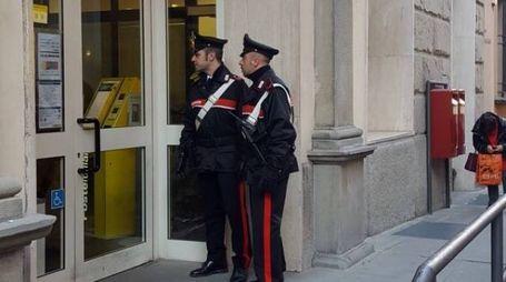 I carabinieri in via Orsini