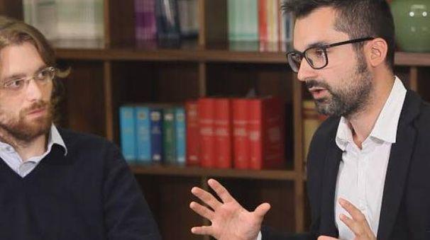 Lo scrittore Roberto Cecchetti