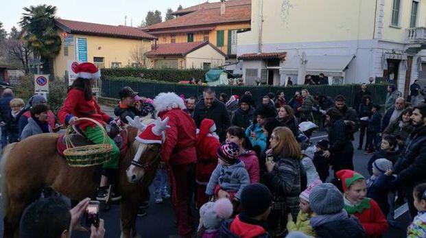 Babbo Natale canturino dello scorso anno