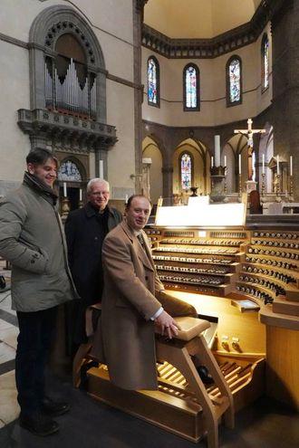 Restauro e ampliamento dell'organo della Cattedrale del Duomo di Firenze (Pressphoto)