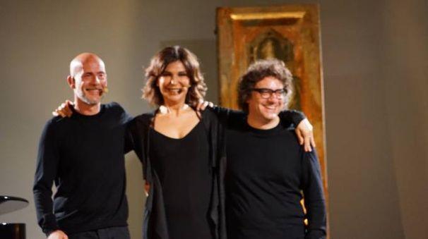 Nella foto Tognazzi, Merloni e Anzonivo