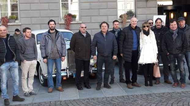 Sondrio, raduno soci Automoclub Storico Italiano e Veteran Car (Orlandi)
