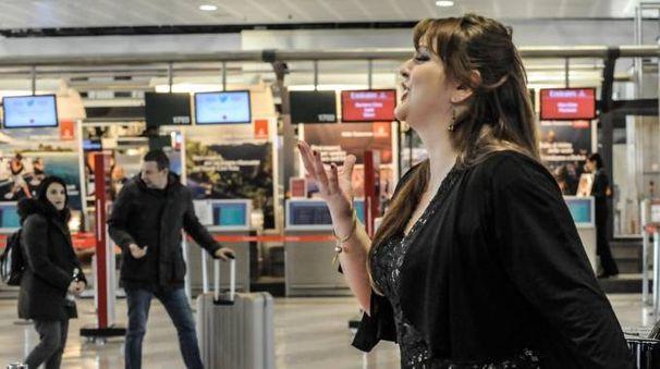 Il recital al Terminal 1