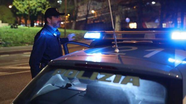 Polizia in una foto d'archivio Fotoprint