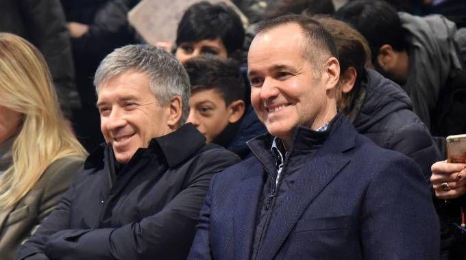 L'ad del Bologna, Claudio Fenucci, con il presidente Joey Saputo (FotoSchicchi)