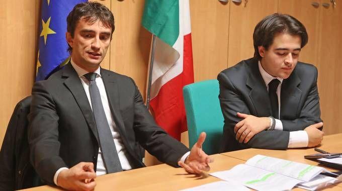 Galeazzo Bignami e Nicolas Vacchi (Isolapress)