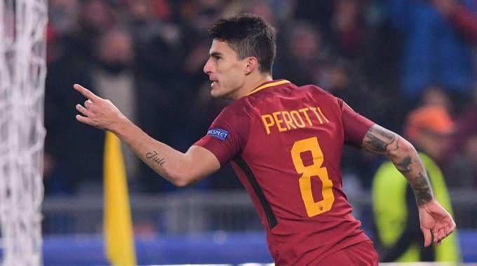Perotti in rete (Lapresse)