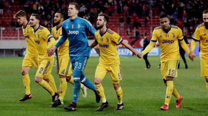 Champions League, la festa bianconera per il successo di Atene