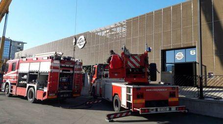 I vigili del fuoco sono intervenuti in forze