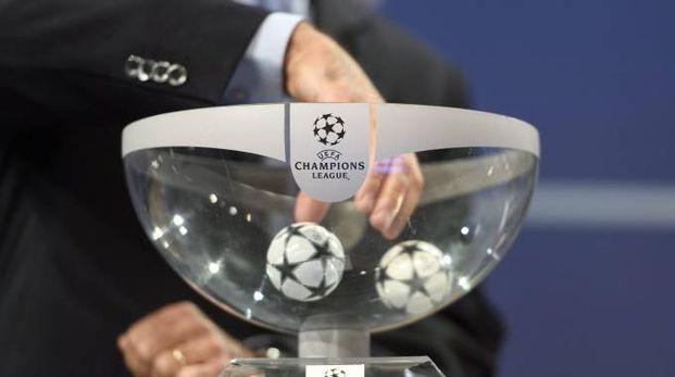 Sorteggio di Champions League (Ansa)