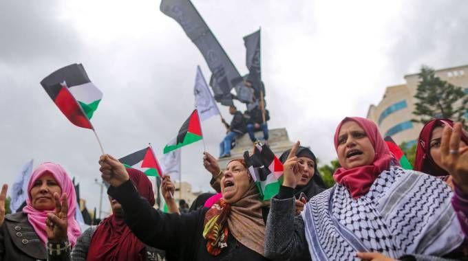 PROTESTE GERUSALEMME TRUMP_OBJ_FOTO_27293228