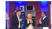 """Fabrizio Frizzi ospite di Antonella Clerici a """"La prova del cuoco""""(Dire)"""
