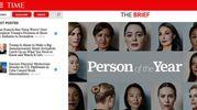 L'homepage di Time.com (Ansa)