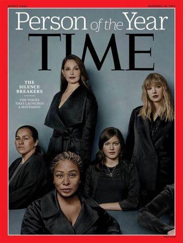 La copertina di fine anno di Time (Ansa)