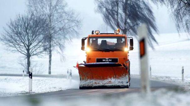 Previsioni meteo, neve in arrivo al Centro Nord. Foto: il maltempo in Germania (Ansa)