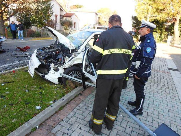 L'incidente si è verificato intorno alle 14 di oggi (Scardovi)
