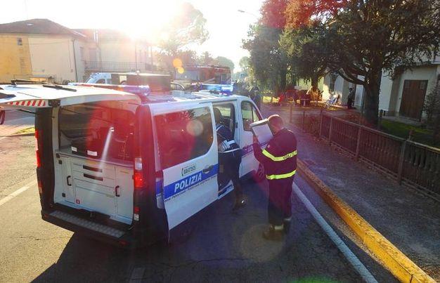 Rilievi da parte della Polizia Municipale della Bassa Romagna (Scardovi)