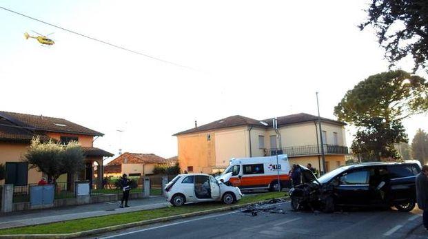 Il pauroso incidente è avvenuto a San Lorenzo di Lugo (Scardovi)