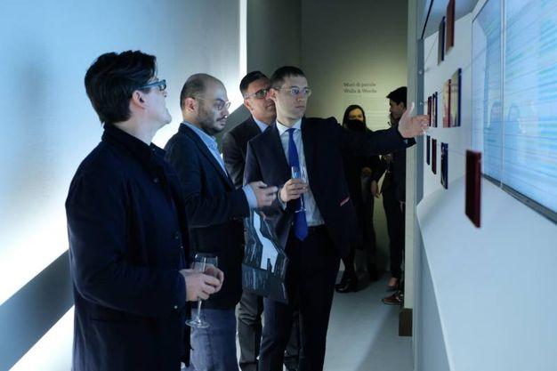 L'evento nella cornice della mostra 'The Wall' inaugurata lo scorso 25 novembre a Palazzo Belloni di via Barberia