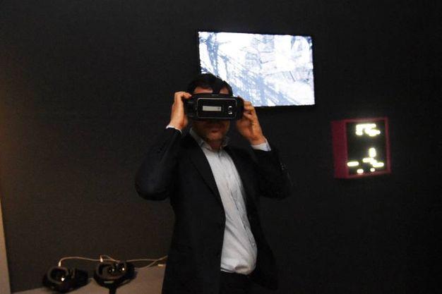La realtà virtuale nella Sala Piranesi