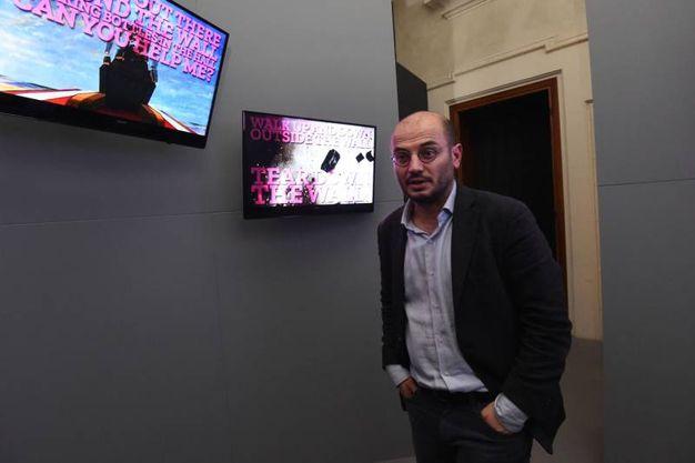 Anche Davide Conte, assessore al Bilancio del Comune di Bologna, presente all'evento