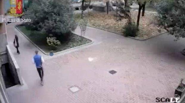 Aggressione in zona Bonola (Newpress)
