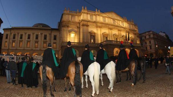 Prima alla Scala di Milano (Newpress)