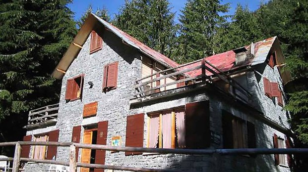 Val Masino, rifugio Scotti (Orlandi)
