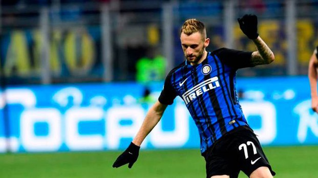 Inter, Marcelo Brozovic (foto Afp)