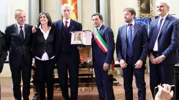 Malagò premiato a Castiglion Fiorentino