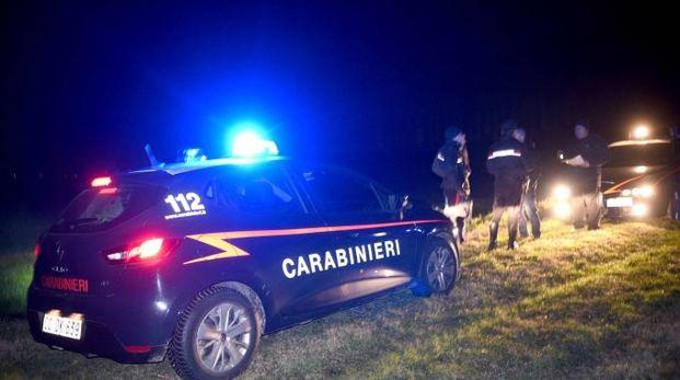 I carabinieri i via Canapa