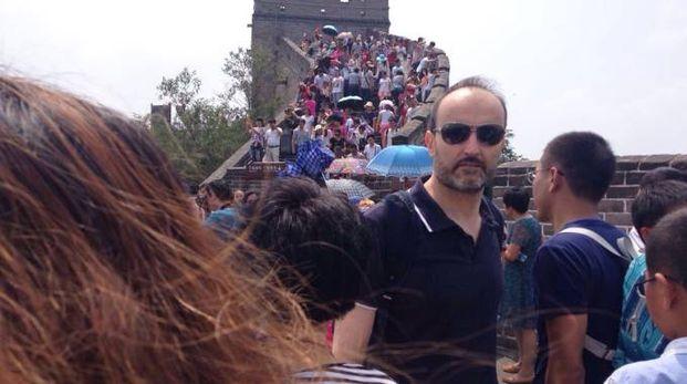 Sonzogni sulla Grande Muraglia