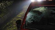 Alla guida dell'auto un ragazzo di 19 anni (foto Fiocchi)