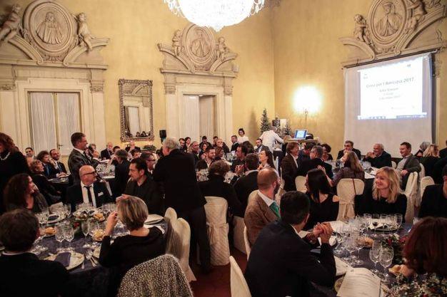 """Villa Viviani, la """"Cena dell'Amicizia"""" di Fimaa-Confcommercio (New Press Photo)"""
