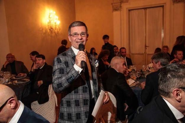 """Villa Viviani, la """"Cena dell'Amicizia"""" di Fimaa-Confcommercio. Arrigo Brandini, presidente Fimaa (New Press Photo)"""