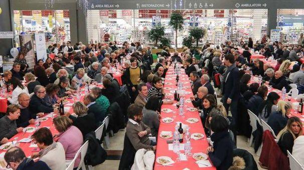 La cena organizzata dalla sezione soci Coop di Empoli