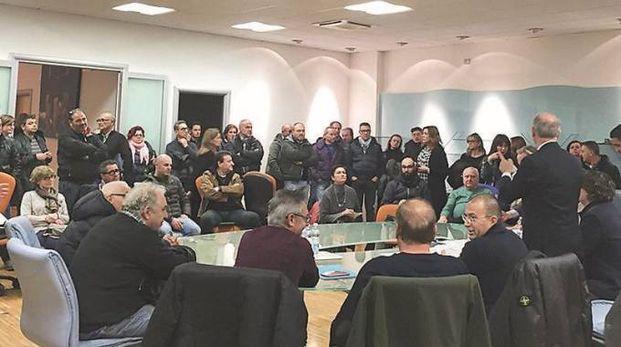 L'assemblea a Rapagnano