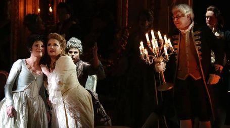 Uno spettacolo operistico alla Scala (AFP)