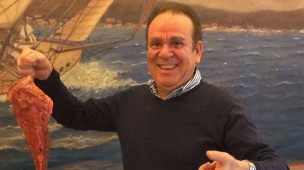 "Geraldo Mereu, patron del ristorante ""La Risacca 2"""