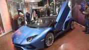 La Lamborghini Aventador S Roadster (foto Schicchi)