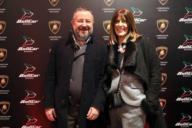 Luca Antolini Ossi e Mara Palombi di Bull Car Lamborghini Bologna (FotoSchicchi)